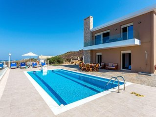 A few breaths from the beach, with private pool is located villa Rami