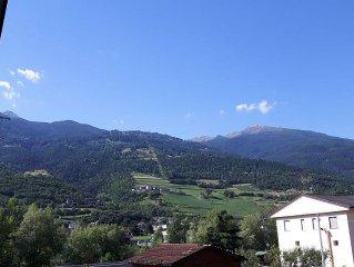Alloggio a 300 metri dalla cabinovia Aosta-Pila