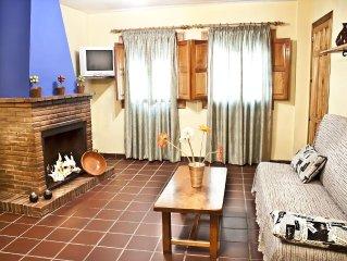 Precioso apartamento dúplex con chimenea en el centro de Capileira