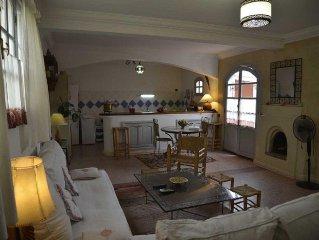 Très Bel appartement proche de la médina avec deux jolies terrasses et pergolas