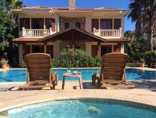 Spacious private 3 bed villa . Private pool. A/C. Free wifi.