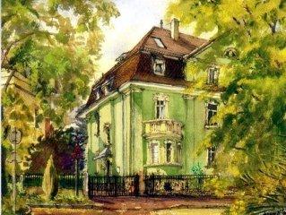 heidel-home 3Raum Apartment: zentrale Villa von 1926 fur Singles/Gruppen/Familie