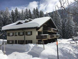 Helle, moderne Wohnung an ruhiger Lage in den Davoser Bergen