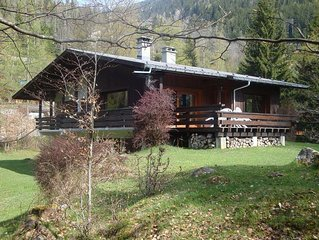 Grand chalet, location and exceptional panorama Chamonix valley