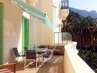 3 PIECES AVEC TERRASSE - PARKING - 6 PERSONNES - MENTON GARAVAN