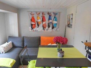 maisonnette independante decor sympa a 2 pas du port