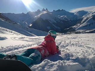 The Corbier- ski rental - Apt comfortable 6P Ski feet