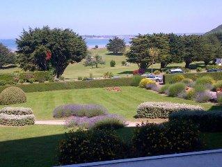 Duplex 90m2 vue sur mer,  plage à 100m et golf à 300m