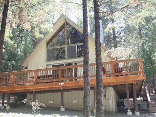 Chalet Cabin near Yosemite in Pine Mountain Lake Community