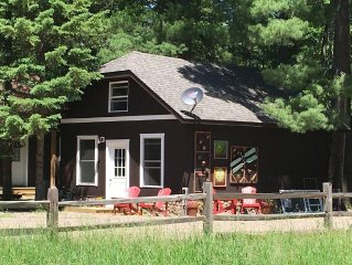 St Germain Lake Rental House