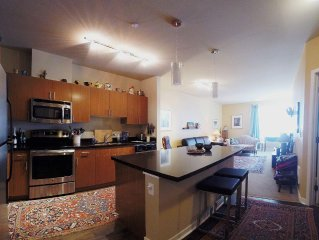 New Apartment In Vibrant Kirkland, Close To Work And Play! QUIET, Top Floor!