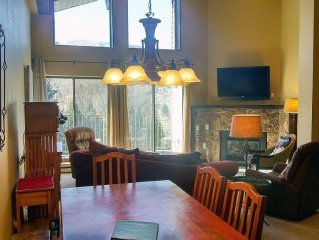BC West #A-4: Deluxe 3BR Condo w/ FREE Skier Shuttle, Heated Pool, Hot Tubs