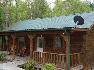 Cowboy Cabin Cozy Studio Log Cabin