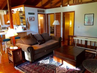 Spacious Lake George Family Cottage With Large Deck and Dock in Silver Bay