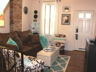 Bmore At Home in Historic Federal Hill- Beautiful furnished Whole House Rental