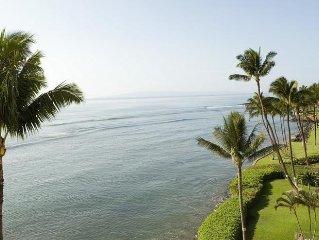 UP TO 25% OFF  Maalaea 1 Bedroom Oceanfront condo near Aquarium