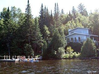 Large Cottage On Lake Papineau