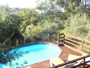 Nice villa  with private pool in Sicily near the village of Cefalu