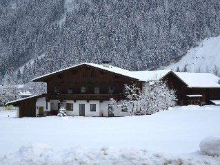 Apartment Haus Gredler  in Mayrhofen, Zillertal - 4 persons, 1 bedroom