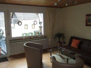 3 Zimmer, Küche Bad abgeschlossen. - Ferienhaus Loreleytal