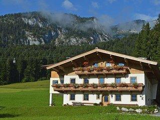 Apartment Ferienwohnung Nachbarbauer  in Lofer, Salzburg and surroundings - 8 p
