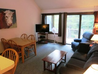 Burkeside Condo Steps Away From Lift & Lodge. KT Access