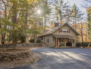 Large family rental near Cashiers, NC- Fantastic Fall Savings