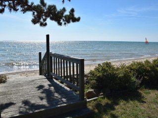 Enjoy our Sandy Beach on Lake Huron with All the Amenities of Home!