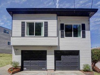 SF Home On The Hill  - Beautiful 3BR Home With Views Of Downtown And The Bay!