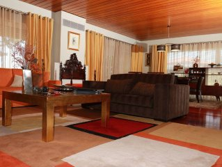Consul's Residence. Excellent location. Central but secluded. Modern and trendy