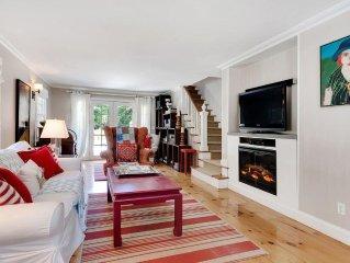 Lux Comfort and Space in E Hampton! Ralph Lauren Decor, ParkLike Setting, Pool!
