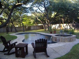Where San Antonio Meets Hill Country...and the Deer and the People Play...