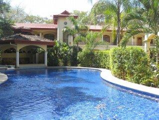 New 2 Br 2 Ba Beach Villa - Tropical Pool -  AC / WiFi (Steps to Beach) - Nosara