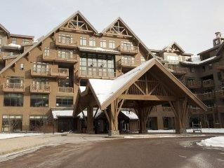 Luxury New Ridgeline Studio *Stowe Mountain Lodge -25% Discount off SML Rates