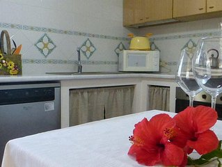 Villa with tropical garden on the coast of Cefalu