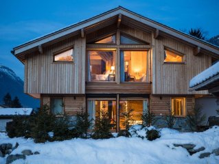 Chalet Planards 2 - Luxurious newly built chalet in a beautiful residential area
