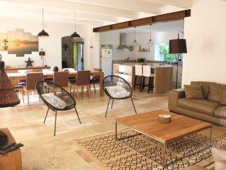 Alpilles : grande Villa et Piscine Privative (8/10 pers)
