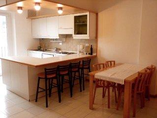 appartamento con bellavista e posizione strategica cittadina a 10' a piedi dalle