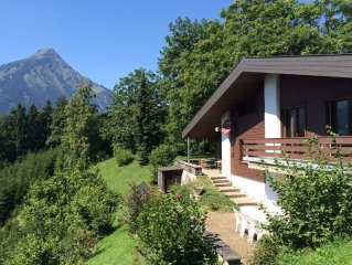 Luxury 6 bedroom chalet with stunning views in the Bernese Oberland