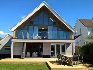 Beach Front House with Terrific Sea Views. Dogs are always welcome here!