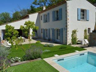 Peaceful designed modern villa nestles in St Paul de Vence