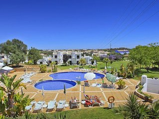 Apartment in Club Albufeira family resort with sun loungers on balcony CA-417