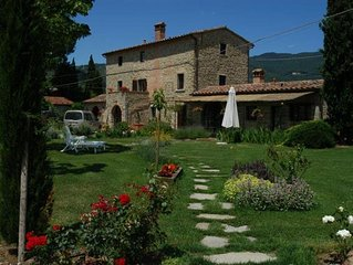 Lovely dependence of a ancient Tuscan farmhouse