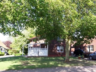 4 Sterne Haus Im 'schönsten Dorf der Wesermarsch' direkt an der Wesermündung