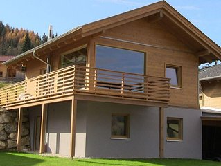 New Luxury Chalet with panoramic view directly on the ski-slope