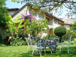 Haus im paradiesischen Garten oberhalb v. Gargnano für Individualisten u. Kinder