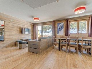 Appartement 6/8 personnes, skis aux pieds