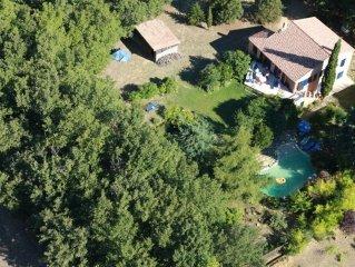 Maison au coeur Luberon, piscine, espace et calme