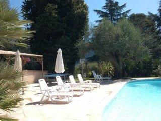 Villa provencale avec piscine a 15 minutes de Nice