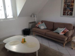 Appartement centre Pornic, 4 personnes, ideal vacances familiales